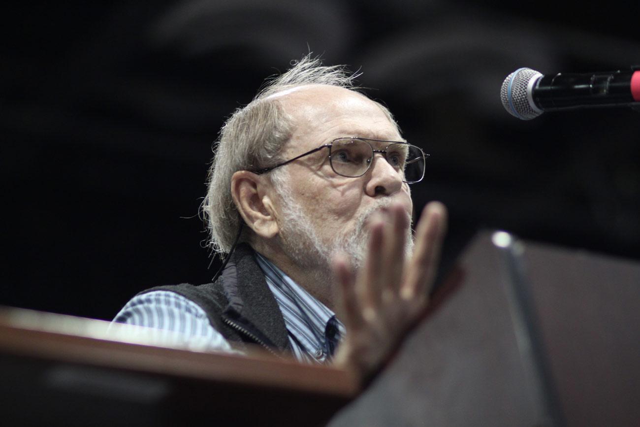 David Allan Evans is a longtime South Dakota Poet.