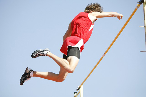 "David Allan Evans writes about ""The Pole Vaulter."""