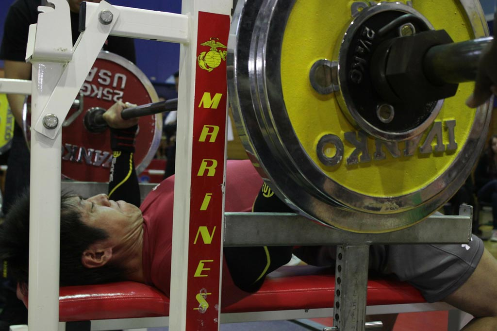 """Poet David Allan Evans and """"Yin and Yang in the Weight Room."""""""