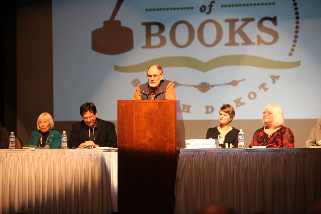South Dakota Poet David Allan Evans has appeared numerous times as a featured author at the South Dakota Festival of Books.